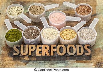 cucharadas, superfoods