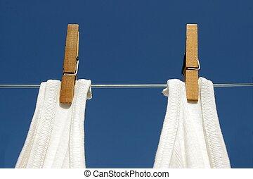 Cuelga el lavado