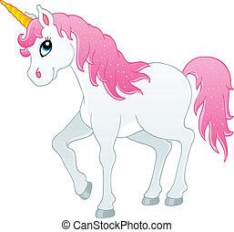 Cuento de hadas unicornio Tema 1