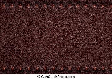 Cuero marrón