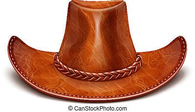 cuero, sombrero de stetson, cowboy's
