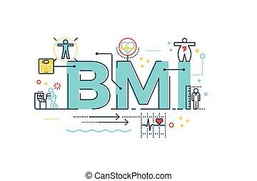 cuerpo, índice, palabra, bmi, masa, :