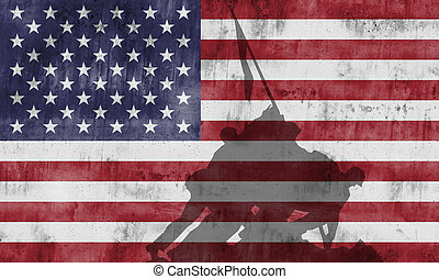 Cuerpo de Marines conmemorando la guerra