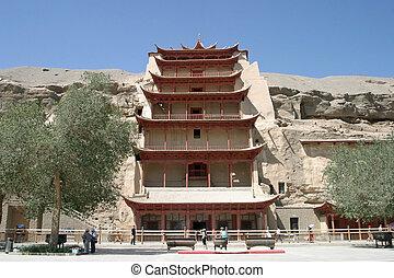 cuevas, china, dunhuang, mogao