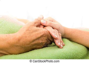 Cuida a los ancianos
