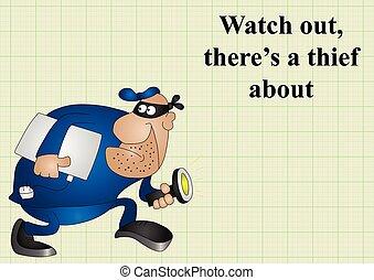 Cuidado con el ladrón