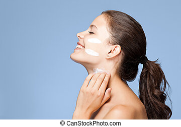 Cuidado de piel.