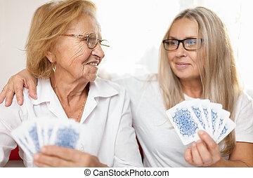 Cuidando a los ancianos