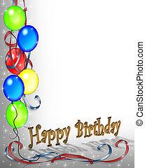 cumpleaños, invitación