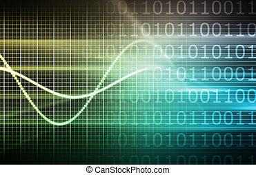 cyber, futurista, plano de fondo