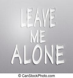 Déjame en paz