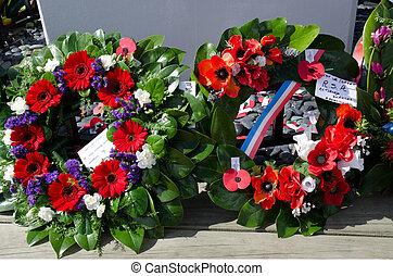 Día Anzac, servicio conmemorativo de guerra
