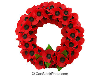Día de amapola grandes recuerdos de guerra mundial
