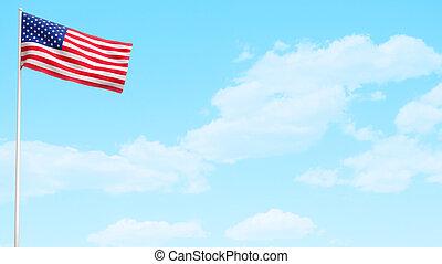 Día de bandera americana
