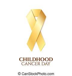 Día de cáncer infantil.