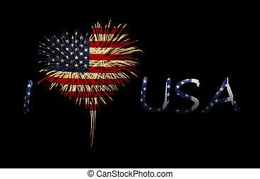 Día de la independencia. Me encanta USA