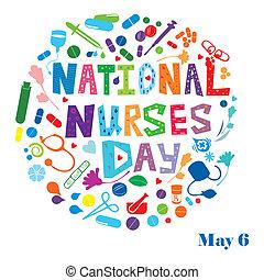 Día de las enfermeras nacionales
