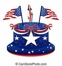 Día del Presidente, pastel patriótico