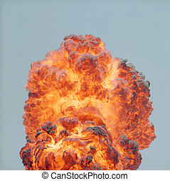 día, explosión
