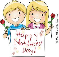 día, mothers'