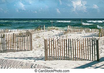 día soleado, playa