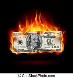 Dólar quemado
