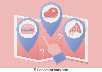 Dónde comer.