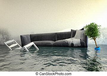 Daño de agua 3D