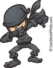dabbing, ninja