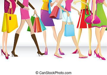 damas, ir de compras