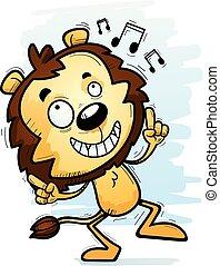 Danza de león macho