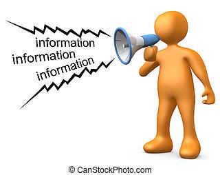 dar, información
