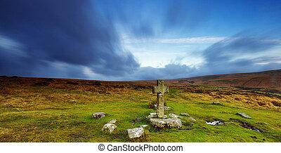 dartmoor, cruz, monjas
