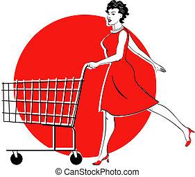 De compras y de compras