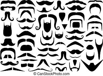 De diferentes bigotes