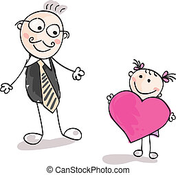 De gran corazón a padre