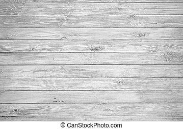 De madera blanca