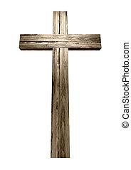de madera, crucifijo