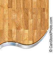 de madera, empresa / negocio, plano de fondo, piso