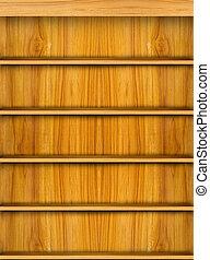 de madera, estante, libro, plano de fondo