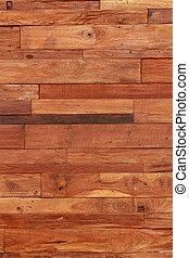 De madera real
