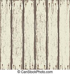 de madera, viejo, cerca