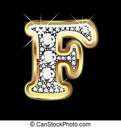 De oro y diamantes