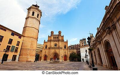 de par en par, fadri, ángulo, catedral de gothic, tiro, torre