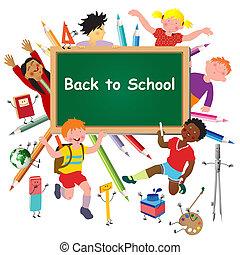 De vuelta a la escuela.