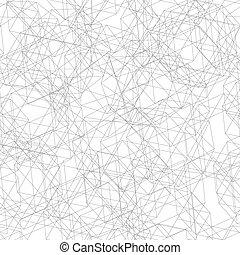 decagon, patrón, líneas, seamless, multa