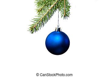 Decoración de Navidad azul