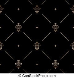 Decoración de patrones oscuros
