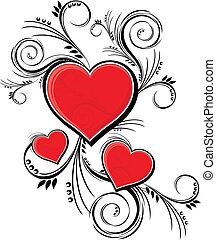 Decoración de Valentines
