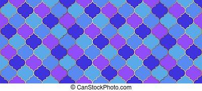 decoration., kareem, ramadan, marroquí, pattern., seamless, mosaico, islámico, árabe